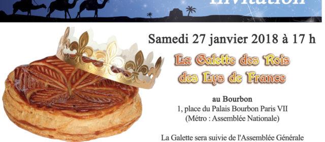 Samedi 27 janvier : Galette des Rois (et Assemblée Générale)